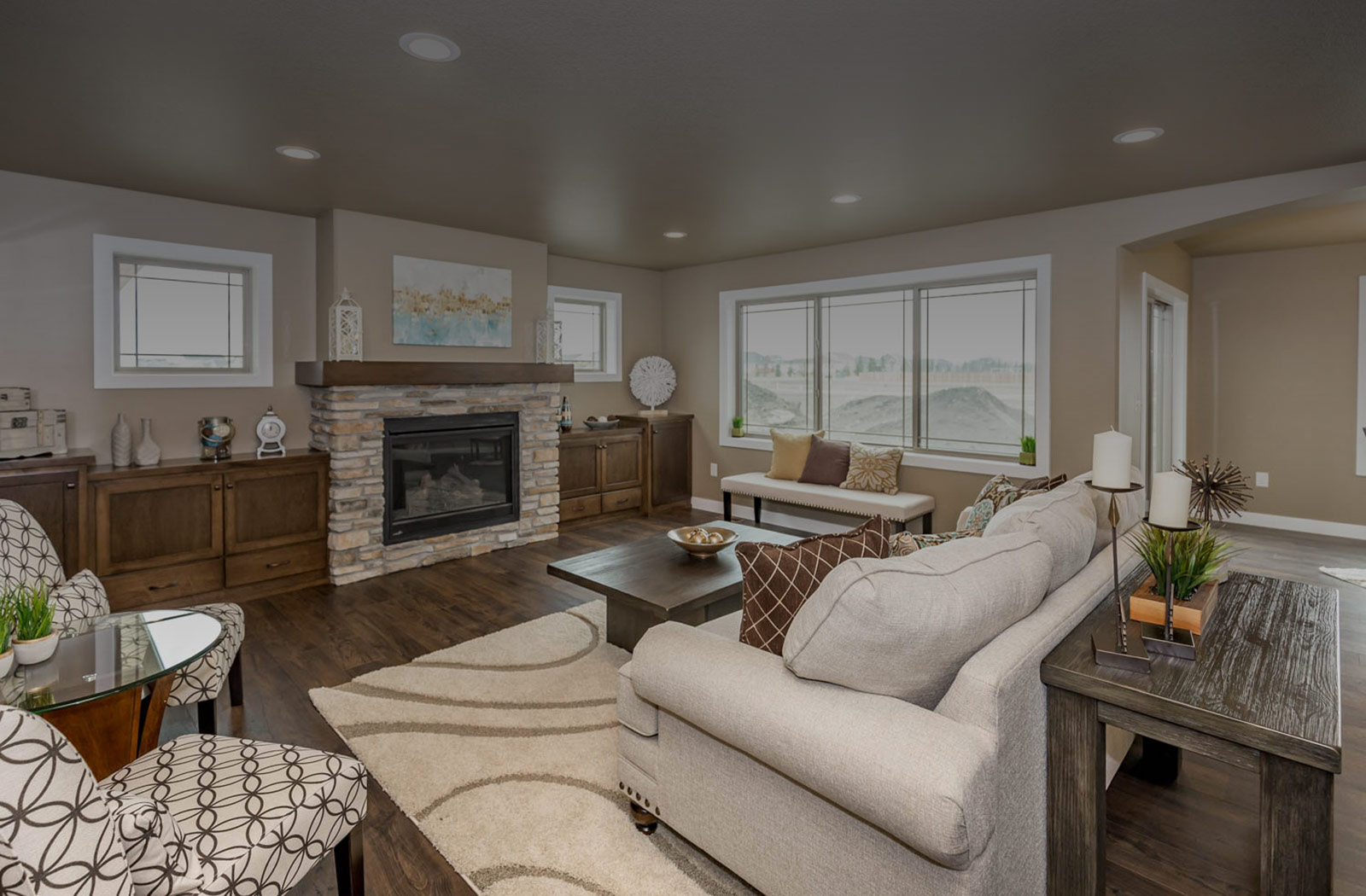 Platinum Homes Parade of homes 2019 family room